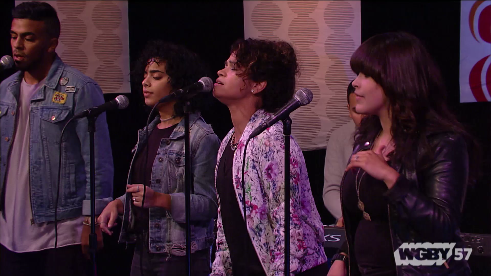 """Springfield, MA's IAR Worship team includes multigenerational men, women, and young people. Here, they perform """"Victory"""" by Rafael Luis Osorio."""