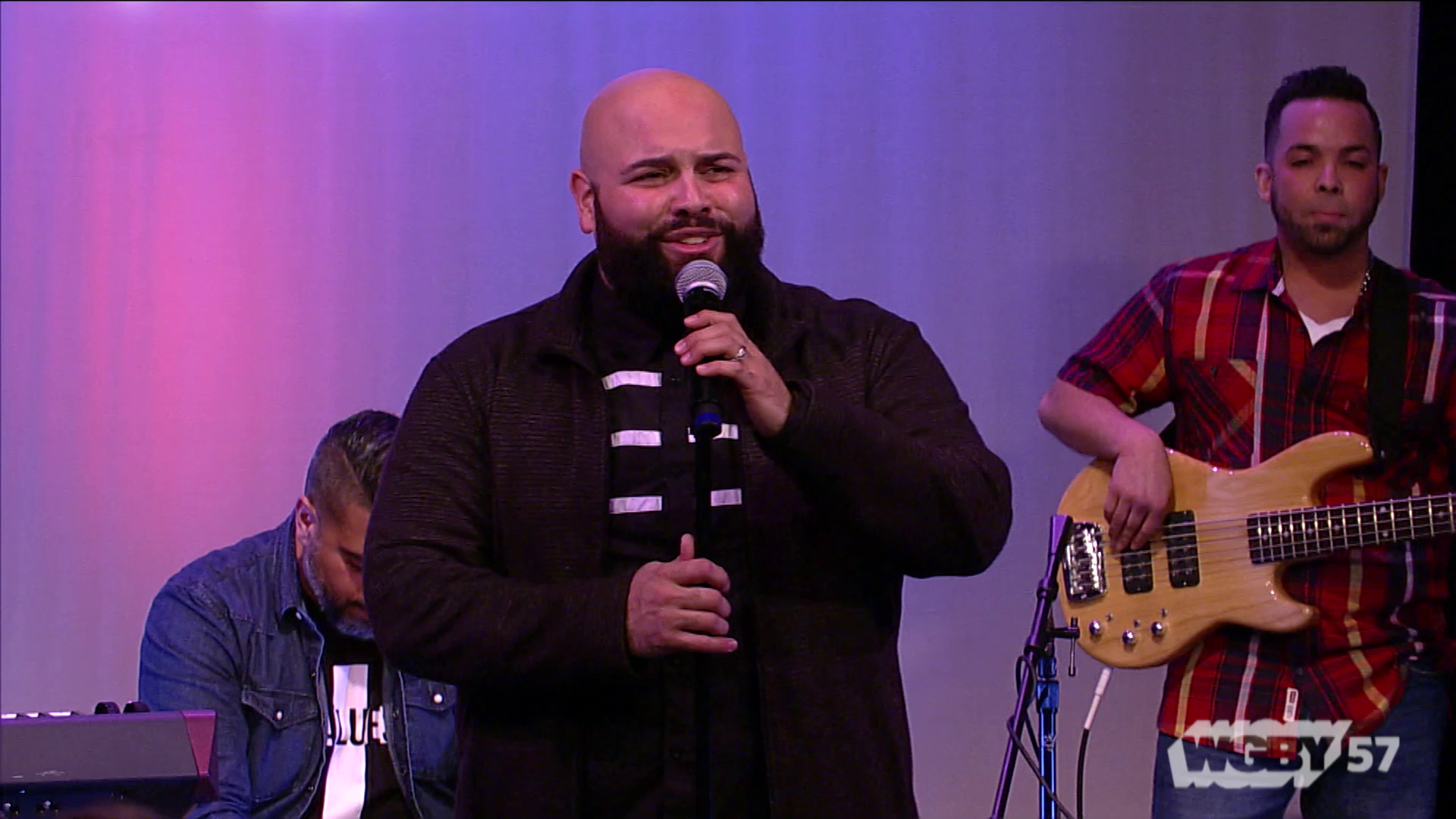 "Springfield, MA based Christian musicians from Restoration Worship Center (RWC) perform ""We've come to worship"" by Josue Avila on WGBY's Presencia."