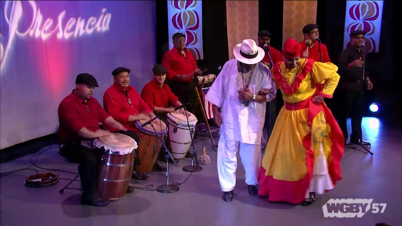 Los Gigantes de la Plana with Roberto & Gloria Lopez de Cepeda present a Puerto Rican dance: Bomba, El Holandés Serrucho, by Rafael Cepeda.