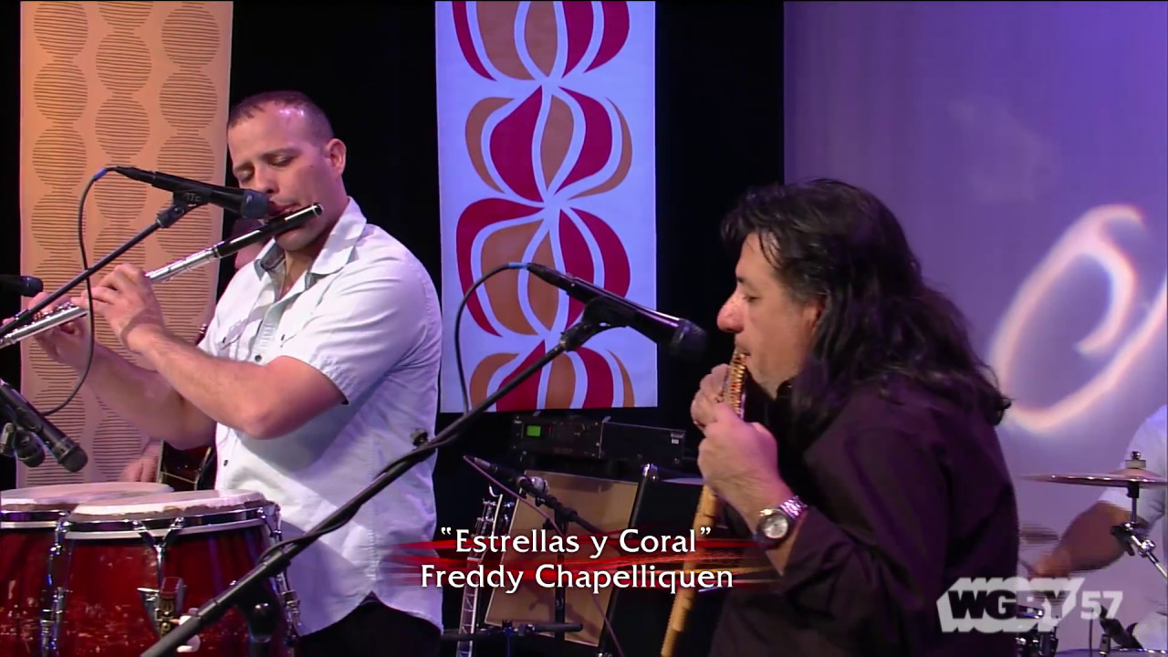 Latin American & Caribbean fusion group MarKamusic present a performance of the song Estrellas y Coral by Freddy Chapelliquen.